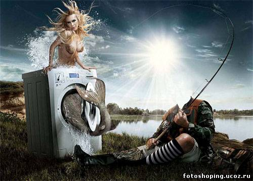 фото для коллажа на рыбалке