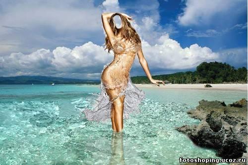 голые девушки шаблон фотошоп