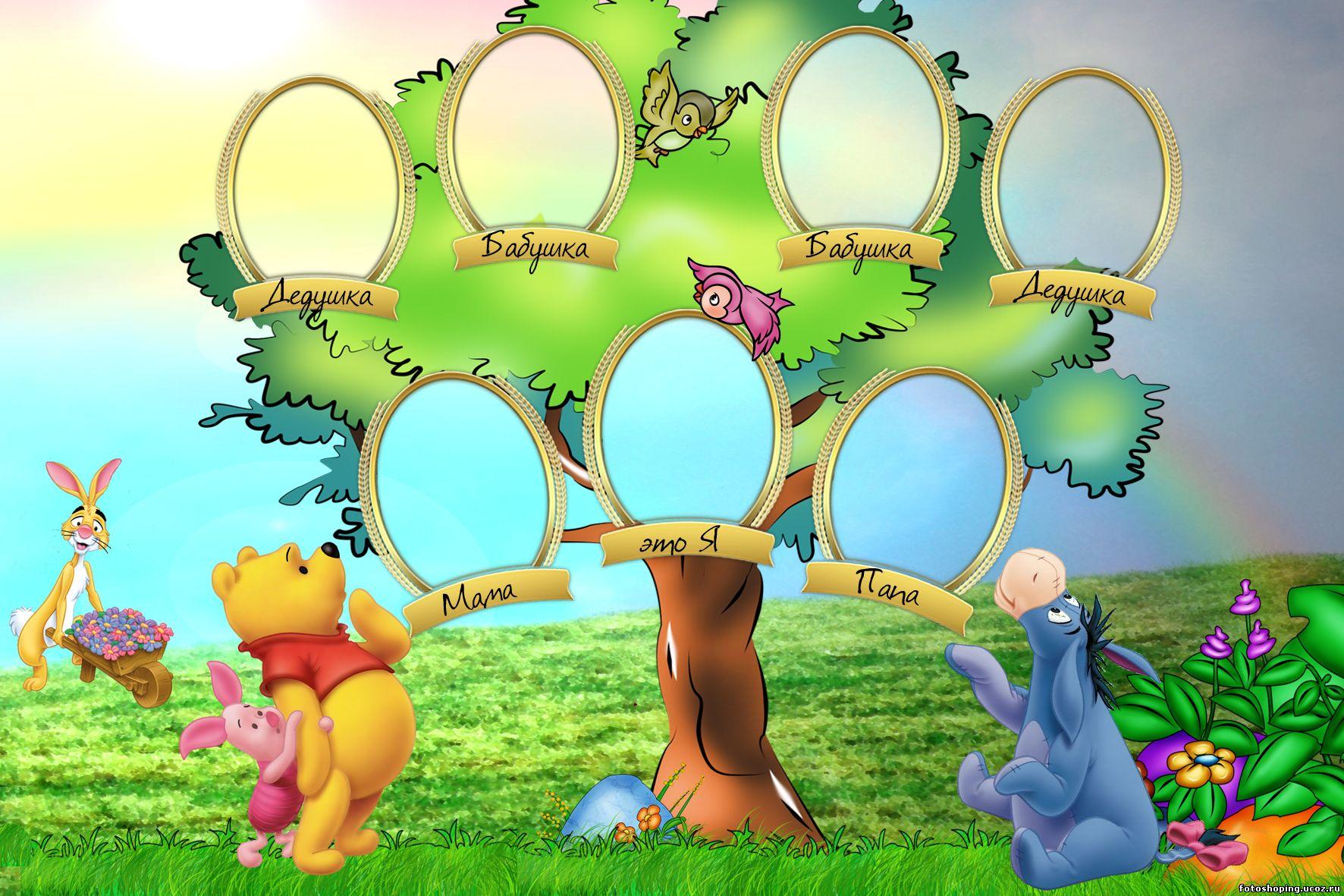 Как сделать генеалогическое дерево семьи своими руками